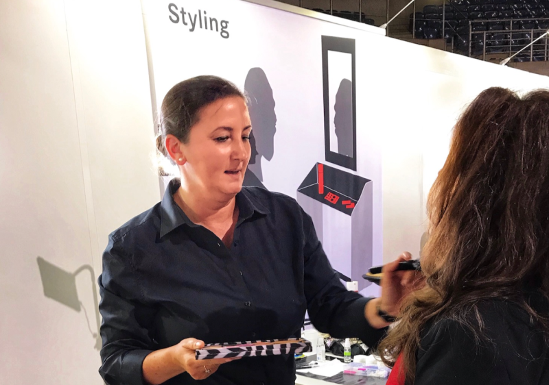 Makeup Artist Stylingberatung Foto Messe Düsseldorf